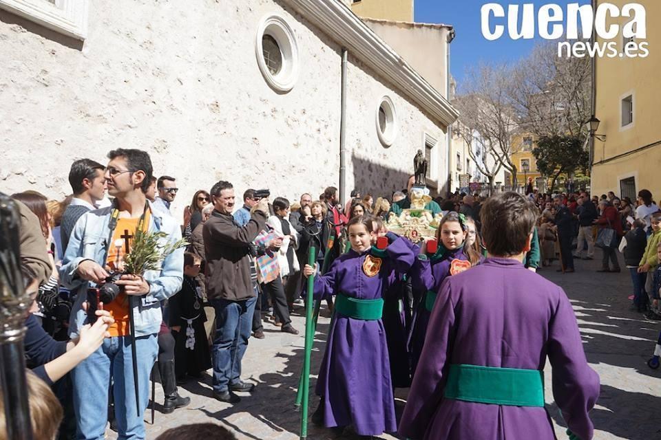 El sábado 30 de marzo se celebrará la Procesión Infantil 2019, que partirá desde la Iglesia de El Salvador a las 11:00 horas