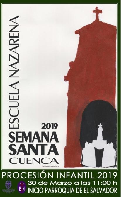 Normativa referente a la procesión infantil 2019, que se celebrará en la ciudad de Cuenca el sábado 30 de marzo