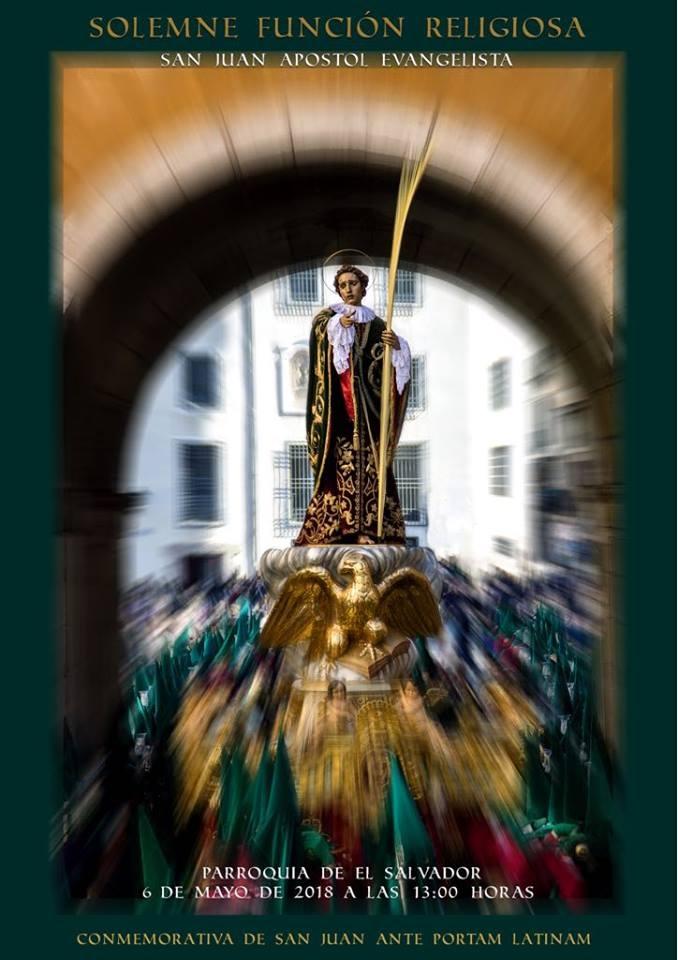 Bases del concurso de carteles convocado con motivo de la celebración de la función religiosa San Juan Ante Portam Latinam