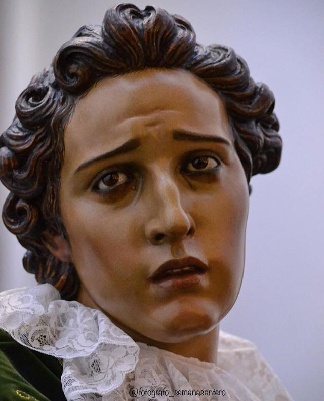 Invitación de los hermanos mayores a los Solemnes Cultos de la Función Religiosa de San Juan Ante Portam Latinam
