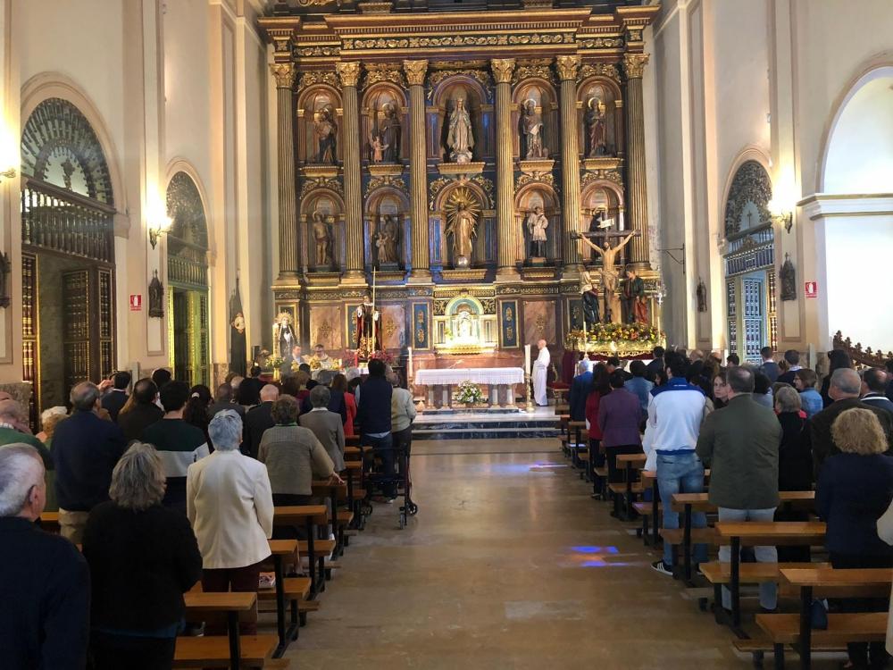 El pasado domingo, 5 de mayo, la hermandad celebró los Solemnes Cultos de San Juan Ante Portam Latinam 2019