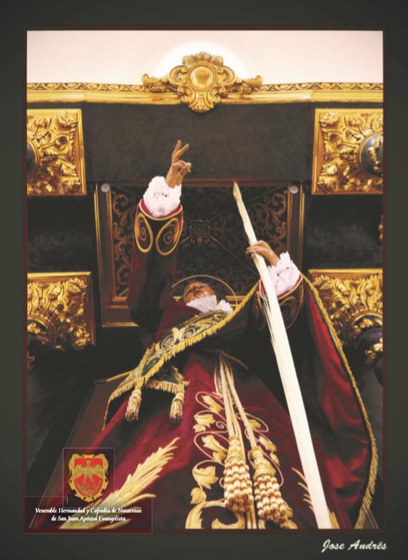 Citación 2019 de la Venerable Hermandad y Cofradía de Nazarenos de San Juan Apóstol Evangelista