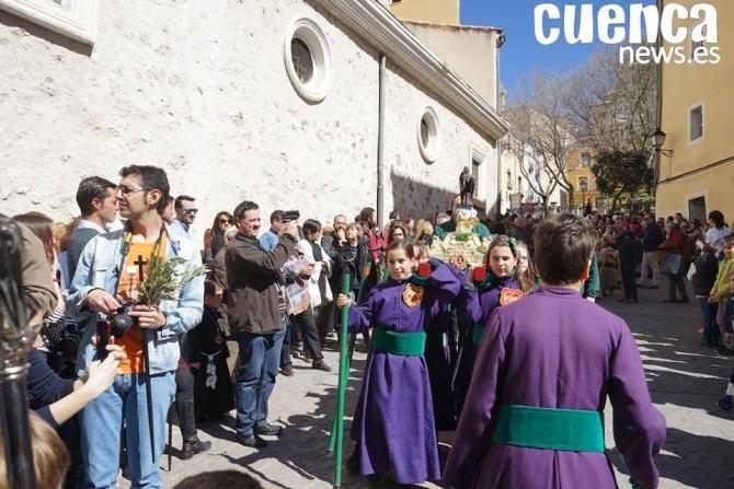 El s�bado 30 de marzo se celebrar� la Procesi�n Infantil 2019, que partir� desde la Iglesia de El Salvador a las 11:00 horas