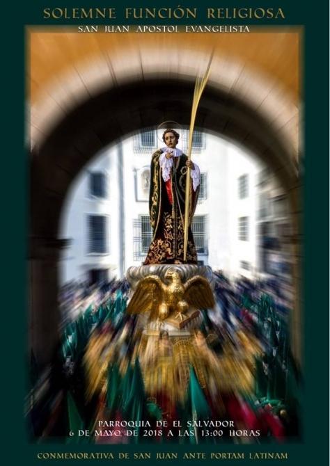 Bases del concurso de carteles convocado con motivo de la celebraci�n de la funci�n religiosa San Juan Ante Portam Latinam
