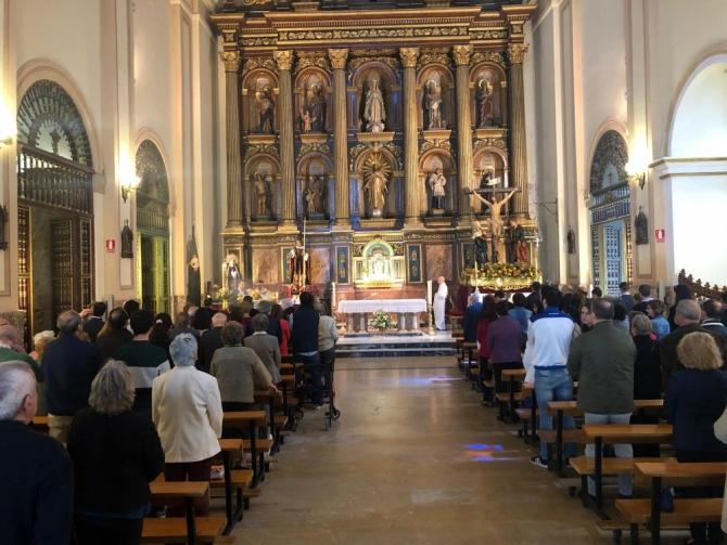 El pasado domingo, 5 de mayo, la hermandad celebr� los Solemnes Cultos de San Juan Ante Portam Latinam 2019