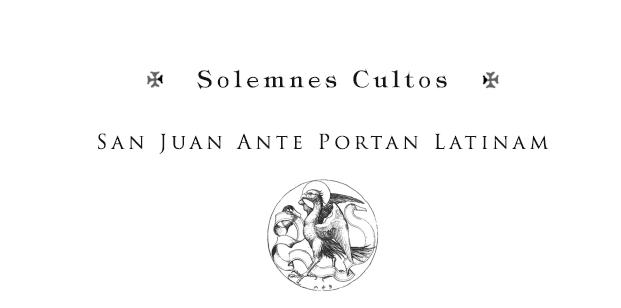 Solemnes Cultos.