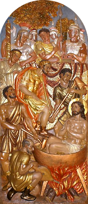 imagen relieve capilla San Juan