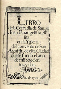 imagen libro actas San Juan
